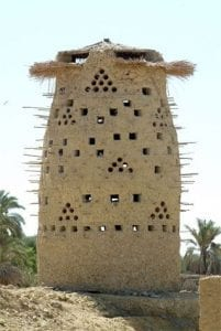 pigeon towers Iran