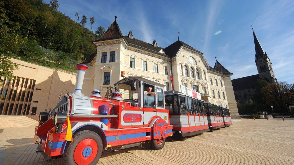 Vaduz city train