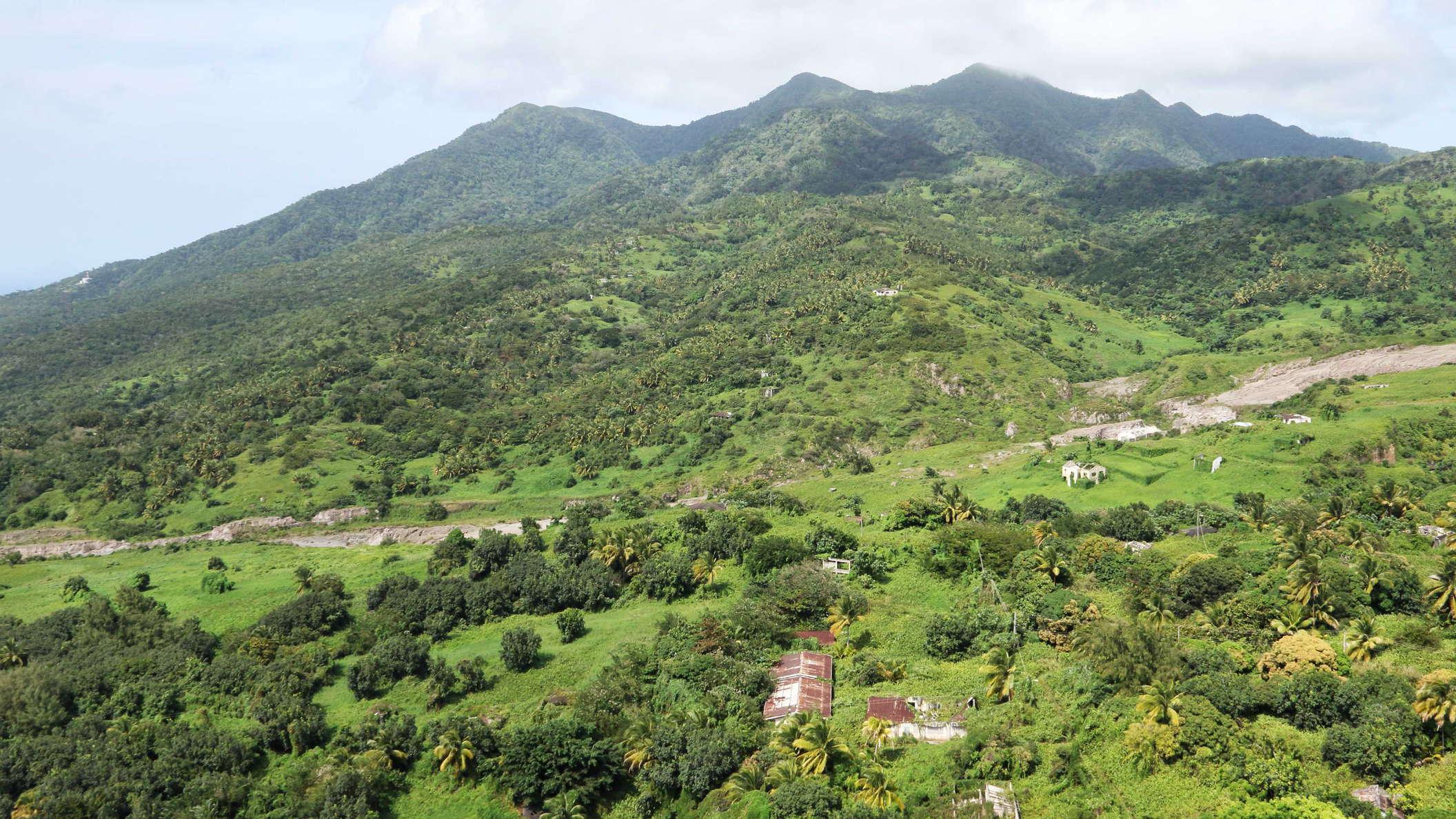Centre Hills montserrat